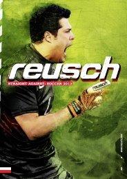 Katalo Reusch - rękawice bramkarskie 2013