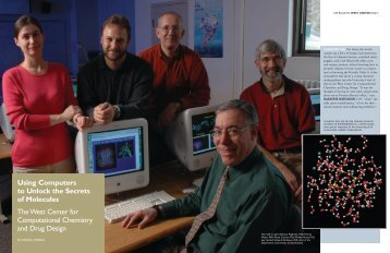Using Computers to Unlock the Secrets of Molecules The West ...