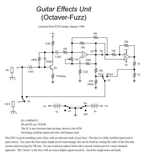Fuzz Face Dallas Arbiter Univox Super Fuzz Schematic on proco rat schematic, super octave schematic, univox amp head,