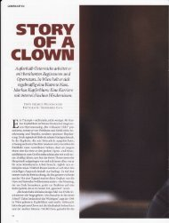Story of a Clown, Datum, Juli 2007