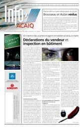 Journal L'Info ACAIQ 03-2003 - oaciq