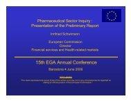 15th EGA Annual Conference