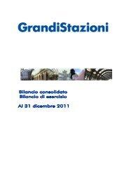 Bilancio consolidato 2011 (.pdf 3179 KB ) - Grandi Stazioni S.p.A.