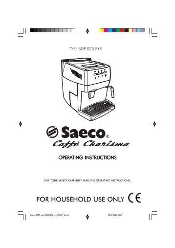 E74057 rev.00 (Saeco Starbuck's Italia SUP 021 YR)