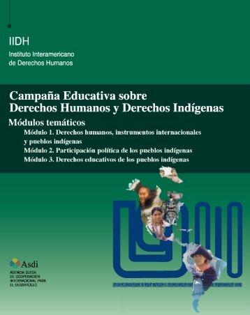 Campaña Educativa sobre Derechos Humanos y Derechos Indígenas
