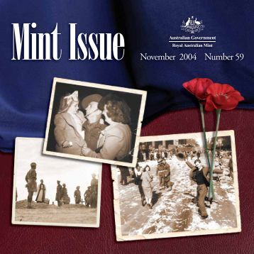 Mint Issue - November 2004 - Issue No. 59 - Royal Australian Mint