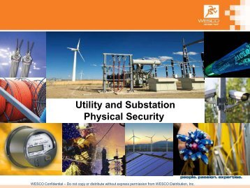 Utility and Substation Physical Security