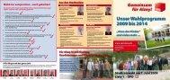 Unser Wahlprogramm 2009 bis 2014 - SPD Alzey