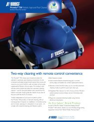 Two-way cleaning with remote control convenience - Pentair