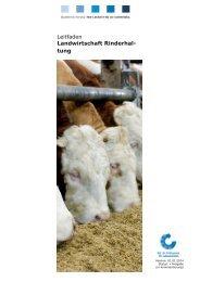 Leitfaden Landwirtschaft Rinderhaltung - QS Qualität und Sicherheit ...