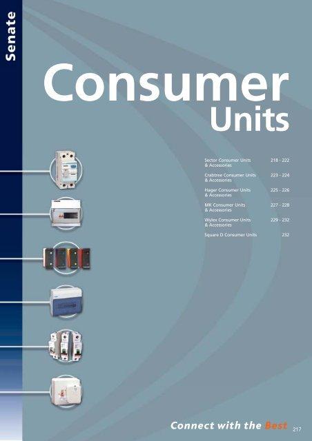 Consumer Units - WF Senate
