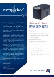PowerShield Commander Brochure