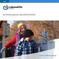 Tagesstätte - Lebenshilfe Werkstätten Forchheim