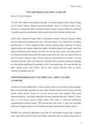 Yeni Aristokratlar: Köşe Yazarları - Rifat Bali