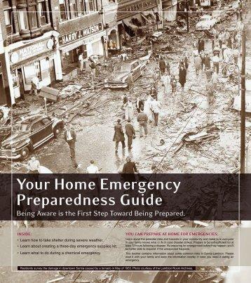 Your Home Emergency Preparedness Guide - CAER