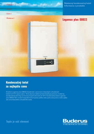 Logamax plus GB022 - kotol-kotly.sk