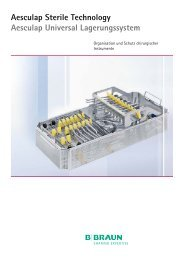 Aesculap Sterile Technology Aesculap Universal Lagerungssystem