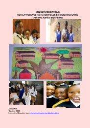 vags media survey burundi - United Nations Girls' Education Initiative