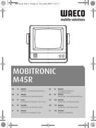 MOBITRONIC M45R - Waeco