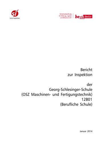 Bericht 12B01 - Georg-Schlesinger-Schule