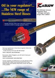 Stainless Steel Hoses - Gaslow