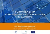 FFT in quantum physics - Prace Training Portal