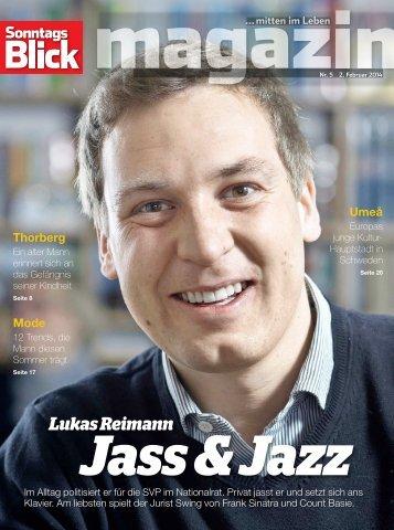 Magazin SonntagsBlick Lukas Reimann