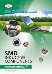 Download Inductors Catalogue - Manudax