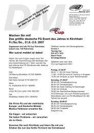 Info FGDM07 Kirchhain - FG Modellsport GmbH