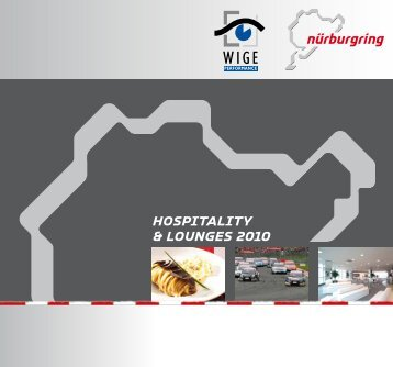 Hospitality & lounges 2010 - Nürburgring