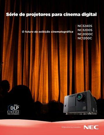 Série de projetores para cinema digital - NEC Display Solutions