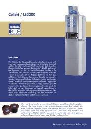 Colibrì / LB3200 - Wendum - Lavazza Espresso Point