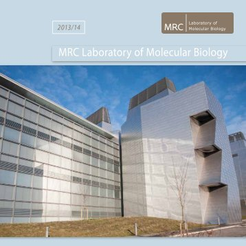 Latest Lab Brochure - LMB Home - University of Cambridge