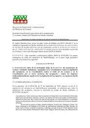 Alegaciones de la FRAVM a los mapas de ruido del aeropuert….
