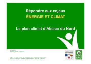 Répondre aux enjeux ÉNERGIE ET CLIMAT Le plan ... - RETS Project