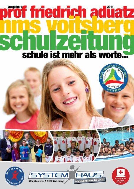 Schulzeitung - nms Voitsberg - Ausgabe 1