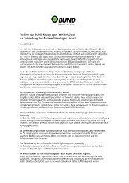 im PDF Format, ca. 55 KB - BUND LV Niedersachsen e.V.