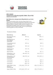 DPU 5045H Umkehrbare Vibrationsplatte 50kN, 45cm/18in