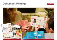 Document Printing - Xeikon