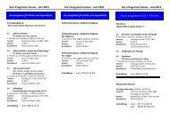 Kurs Programm1. Halbjahr 2011 - Kinderschutzbund