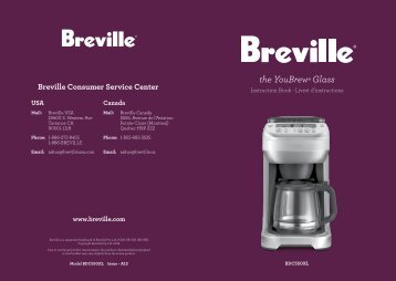 the YouBrew® Glass - Breville