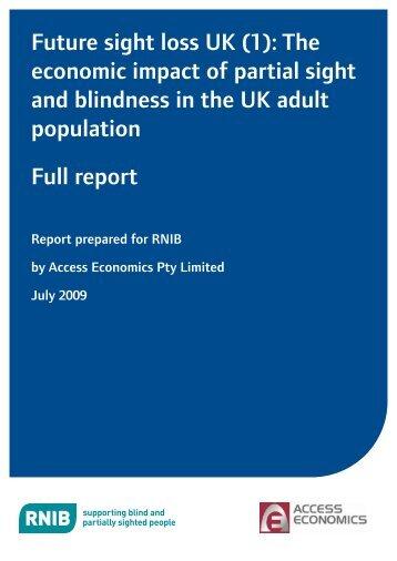 Full report (PDF, 1545 KB) - RNIB