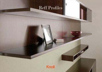 Reff Profiles Brochure (3.31 MB) - Knoll