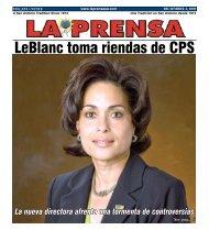 LeBlanc toma riendas de CPS - La Prensa De San Antonio