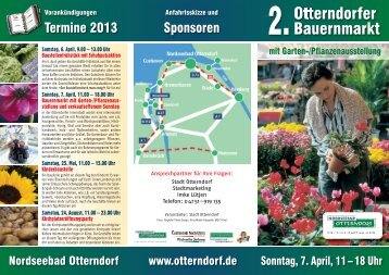 Otterndorfer Bauernmarkt - Nordseebad Otterndorf