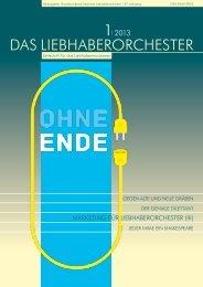 DAS LIEBHABERORCHESTER - Bund Deutscher ...