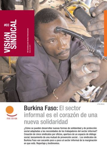 Visión Sindical: Burkina Faso