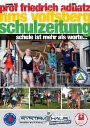 Schulzeitung - nms Voitsberg - Ausgabe 2