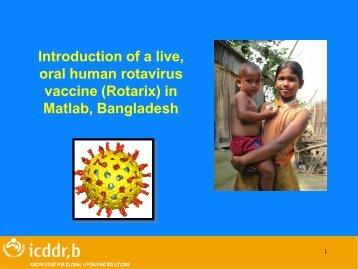 Rotarix - Sabin Vaccine Institute