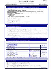 Ficha de datos de seguridad - Wieland Dental